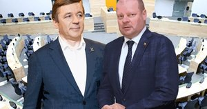 Ramūnas Karbauskis ir Saulius Skvernelis (tv3.lt fotomontažas)