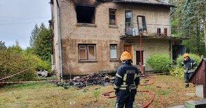 Pražūtingas gaisras Kaišiadorių rajone: vyro kūną aptiko namo palėpėje (nuotr. TV3)