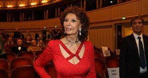 Sophia Loren (nuotr. SCANPIX)