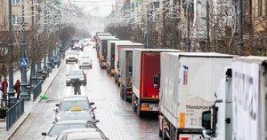 Sunkvežimiai (nuotr. Irmantas Gėlūnas/Fotobankas)