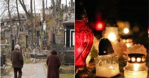 Etnologas pasakė, ko nereikėtų daryti kapinėse (tv3.lt fotomontažas)