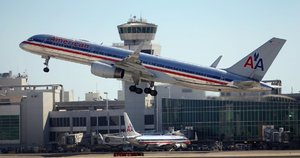 """American Airlines"" lėktuvas (nuotr. fotolia.com)"