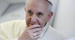 Popiežius Pranciškus pritarė gėjų civilinei partnerystei (nuotr. SCANPIX)