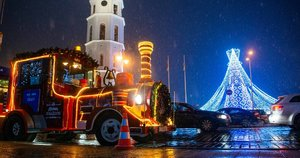 Kalėdinis Vilnius (nuotr. Fotodiena/Justino Auškelio)