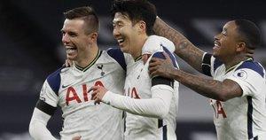 """Tottenham"" šventė pergalę. (nuotr. SCANPIX)"