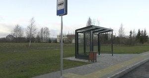 Telšių stotelė už 93 tūkst. eurų (nuotr. stop kadras)