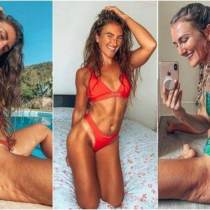"""Fitneso """"Instagram"""" modelis nebijo parodyti savo celiulito: gerbėjai žavisi jos drąsa"""