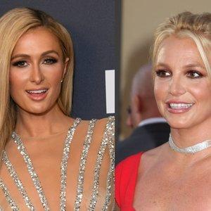 Hilton pasidalijo archyviniu kadru su Spears: pamatykite, kaip moterys atrodė prieš 14 metų
