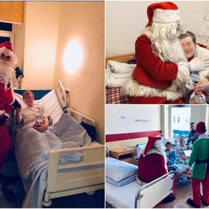 Kaunietis kasmet kitiems kuria kalėdinį stebuklą: likimas jam už tai atsilygino žmona