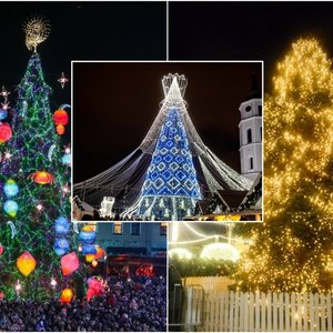 Sužinokite, kada jūsų mieste sužibs Kalėdų eglė: skelbiamas sąrašas