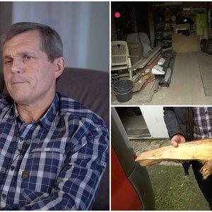 Gintautas du paauglius įkalino garaže: bandė juos pamokyti, bet virto grobiku
