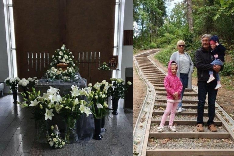 Tėvą palaidojusi Ingrida: jį ištiko infarktas, o medikai nesuteikė pagalbos laiku (nuotr. asm. archyvo)