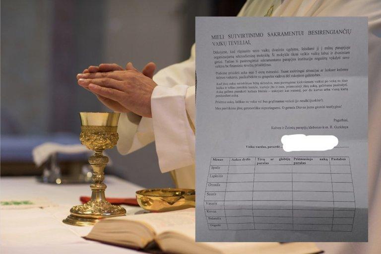 Bažnyčia pasakė, kiek tiksliai reikėtų aukoti už sutvirtinimo sakramentą: ar galima apibrėžti auką?  (nuotr. tv3.lt)