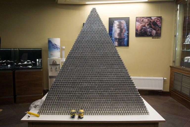 Milijono centų piramidė (nuotr. BFL)