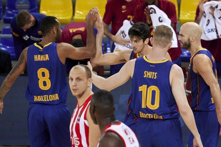 Barcelona komanda (nuotr. SCANPIX)