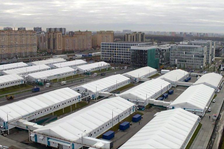 Lauko ligoninė Maskvoje (nuotr. SCANPIX)