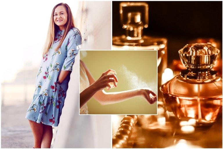 Kvapų dizainerė Ramunė Gvozdaitė įspėja, ką būtina žinoti, prieš perkant kvepalus (tv3.lt fotomontažas)