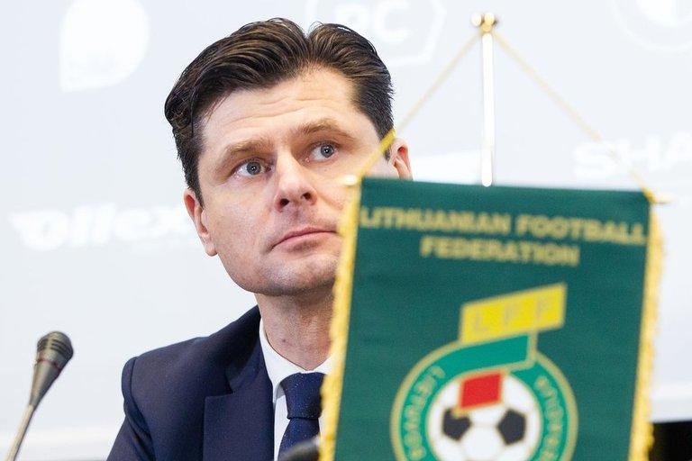 LFF spaudos konferencijos akimirka (Irmantas Gelūnas/Fotobankas)