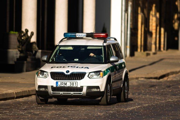 Policija (nuotr. Fotodiena)