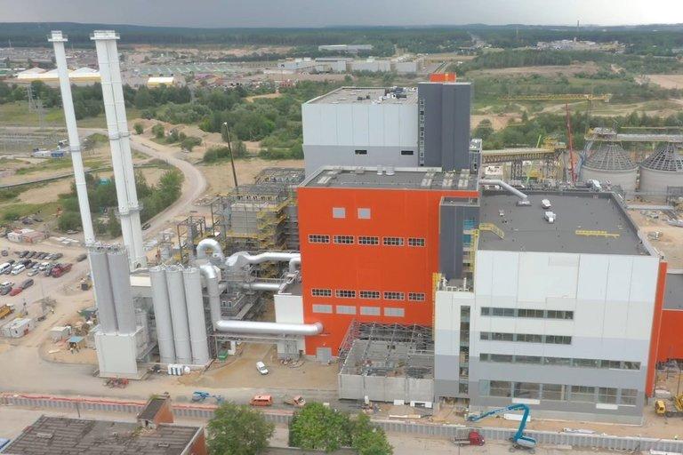 Vilniaus kogeneracinėje jėgainė (nuotr. Organizatorių)