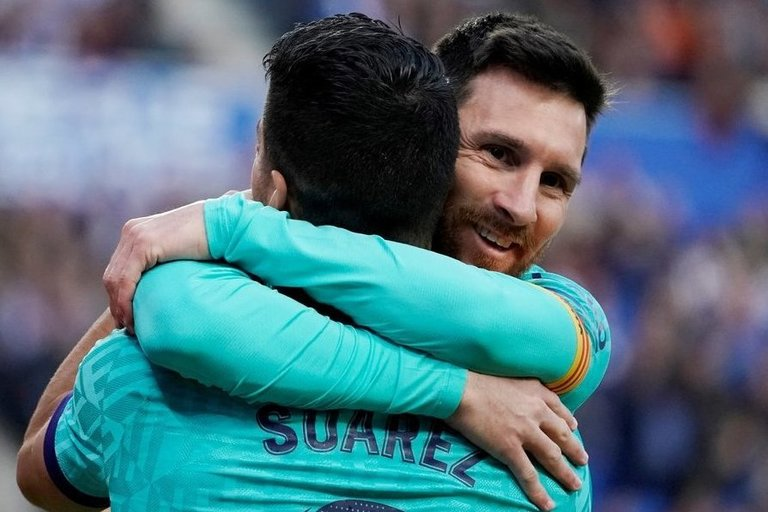 L. Messi ir L .Suarezas. (nuotr. SCANPIX)