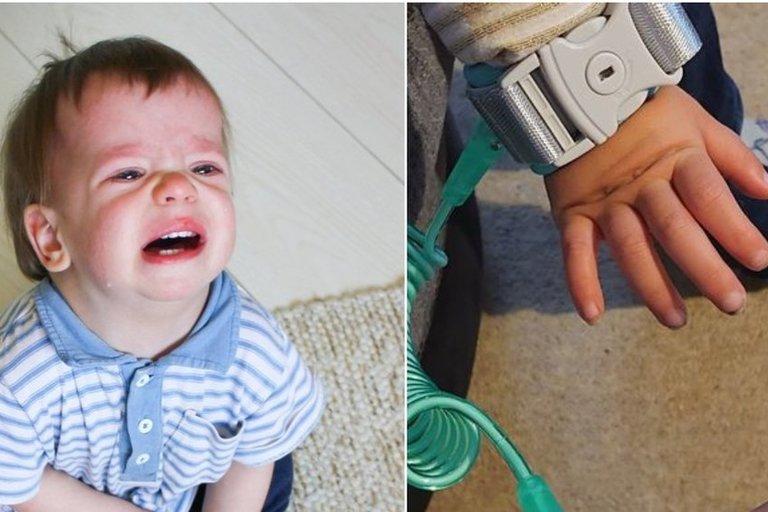 vaikų rankos nukenčia nuo dezinfekcinio skysčio  (tv3.lt fotomontažas)