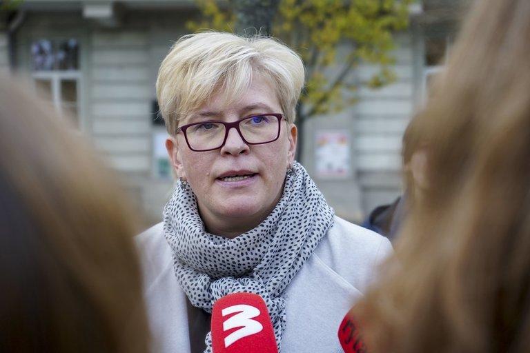 Ingrida Šimonytė balsuoja (fotodiena.lt nuotr.) (nuotr. tv3.lt)
