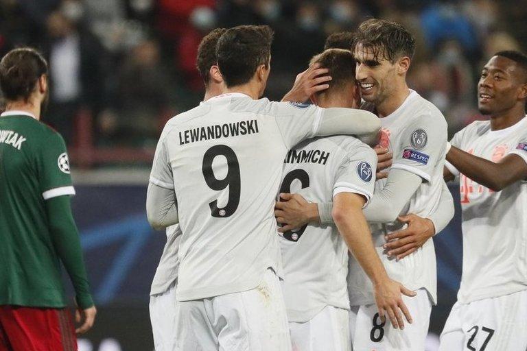 """Bayern"" iškovojo pergalę. (nuotr. SCANPIX)"