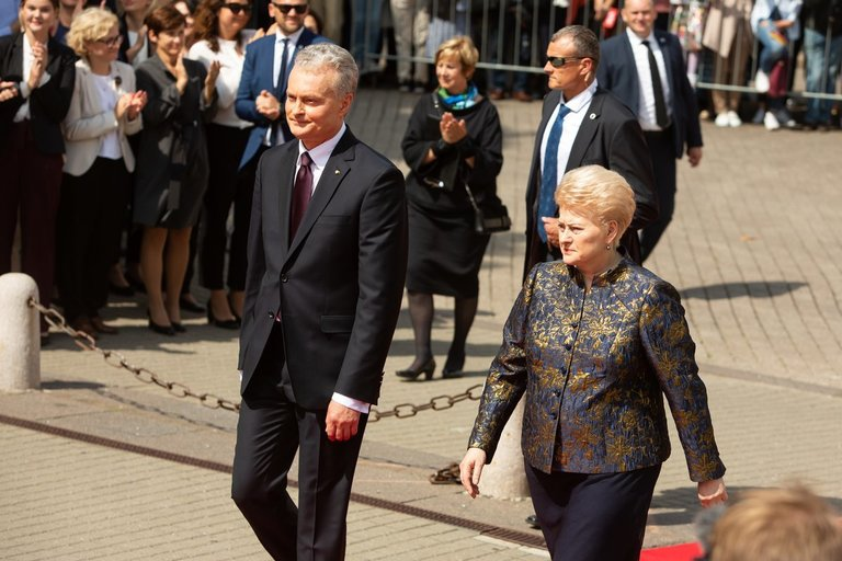 Gitanas Nausėda ir Dalia Grybauskaitė (Greta Skaraitienė/Fotobankas)
