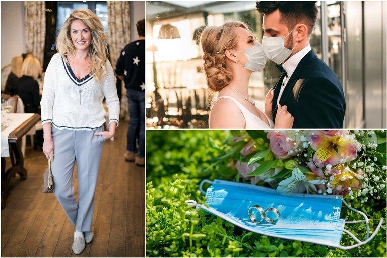 Vestuvės karantino metu (nuotr. shutterstock.com ir tv3.lt montažas)