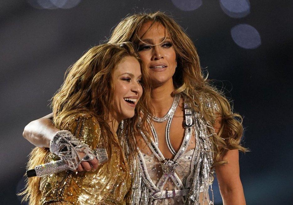Shakira ir Jennifer Lopez