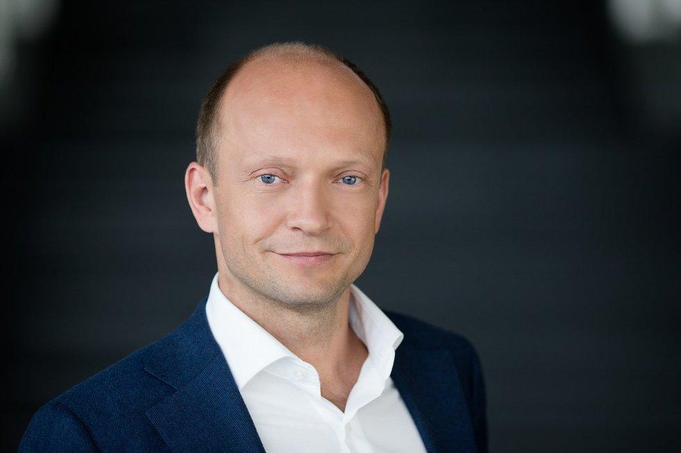 "Nerijus Mačiulis (nuotr. ""Swedbank"")"