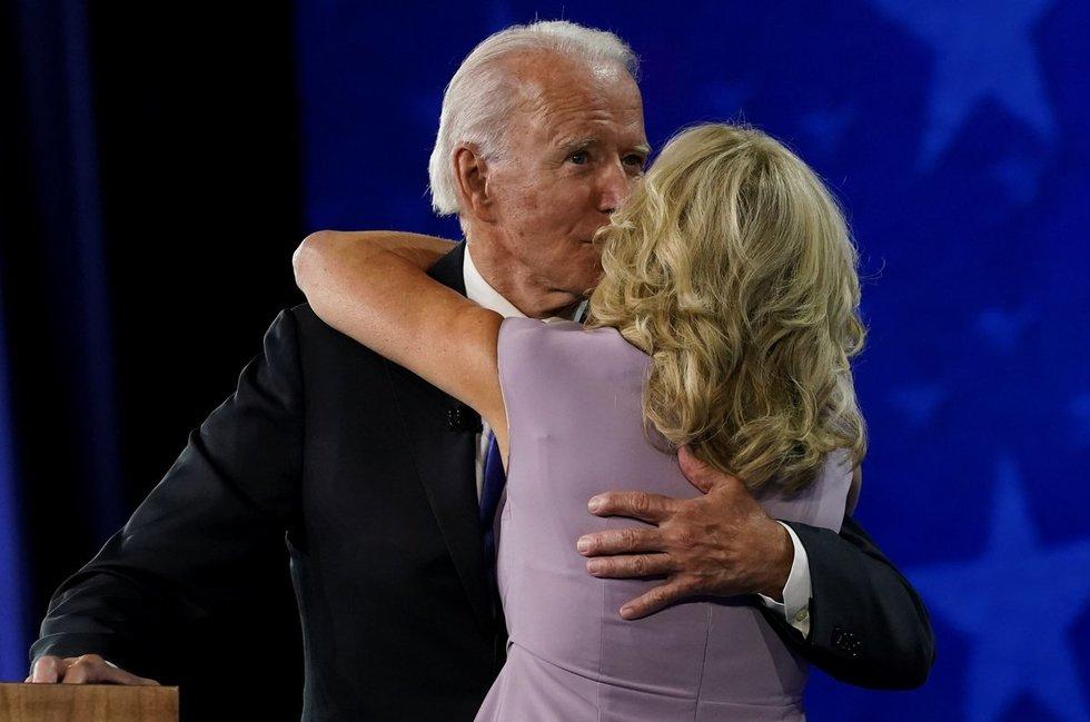 Jill Biden ir Joe Biden