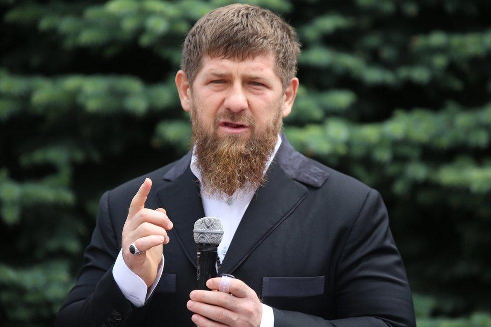 Čečėnijos lyderis Ramzanas Kadyrovas