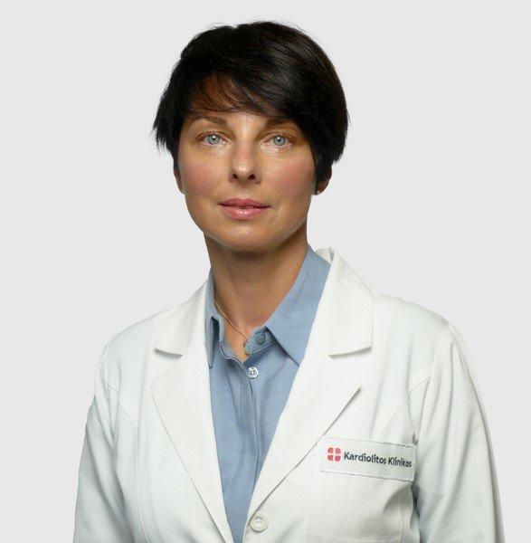 """""""Kardiolitos klinikų"""" Akių centro gydytoja oftalmologė Gintautė Gulbinienė."""