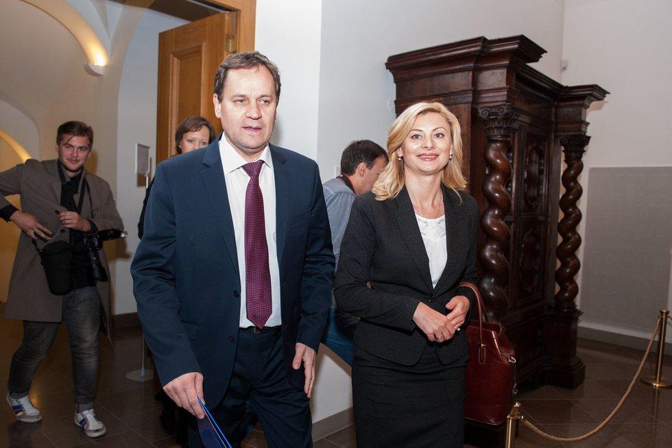 Valdemaras Tomaševskis ir Rita Tamašunienė