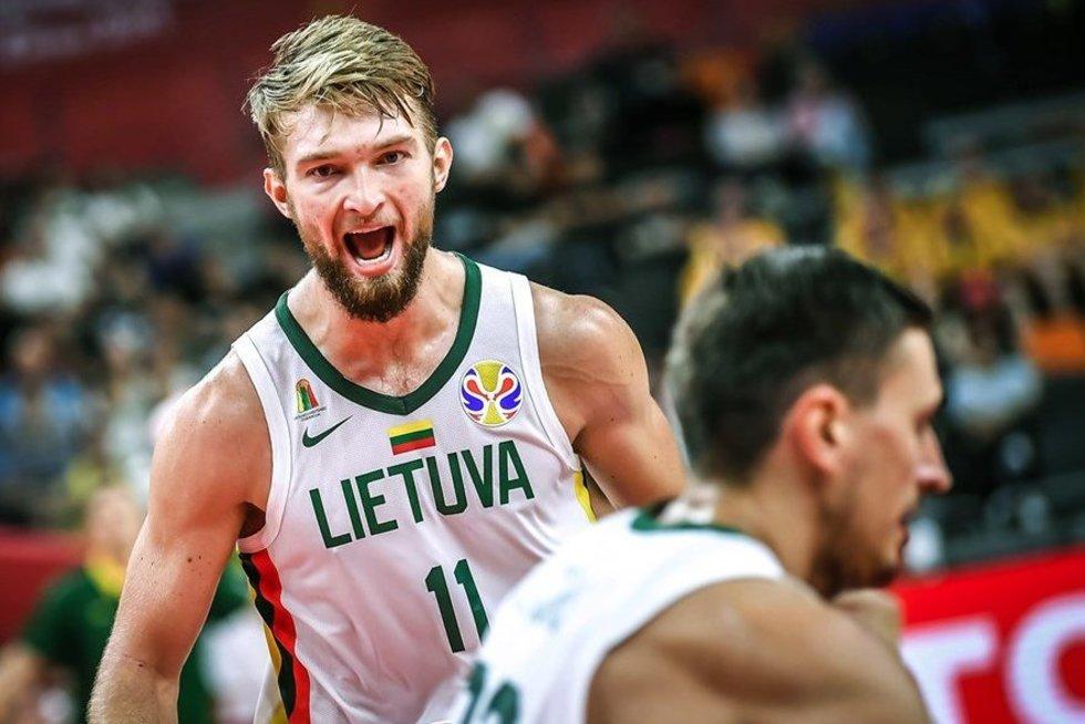 Rungtynių akimirka (nuotr. FIBA)