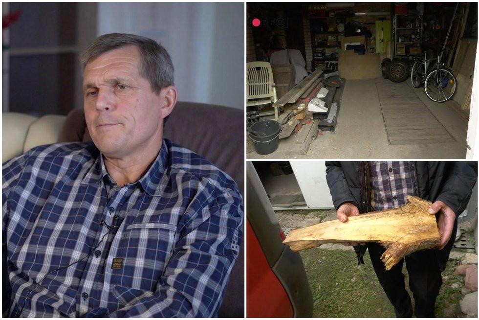 Gintautas du paauglius įkalino garaže: bandė juos pamokyti, bet virto grobiku (tv3.lt koliažas)