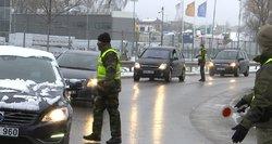 Vyriausybė nusprendė: Lietuvos keliai ir toliau liks prižiūrimi pareigūnų, bet šie keis taktiką