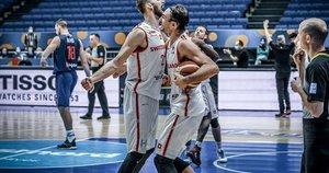 Šveicarai iškovojo pergalę (nuotr. FIBA)