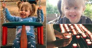 Po greitos ligos mirusios mažos mergaitės mama nevilties apimta savo prarastai dukrai dedikavo įrašą feisbuke (nuotr. facebook.com)