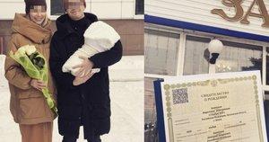 Rusas sūnui davė neįprastą vardą: tapo Marketingo tėvu (nuotr. Instagram)