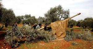 Sirijos kovotojai (nuotr. Scanpix)