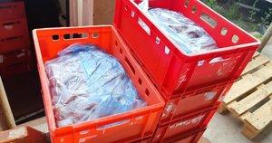 FNTT: šešėliniai mėsos prekeiviai ją laikė antisanitarinėmis sąlygomis (nuotr. FNTT)