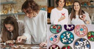 Mamos ir dukters kepami sausainiai ne vieną palieka be žado (nuotr. Bondo photography) (nuotr. asm. archyvo)
