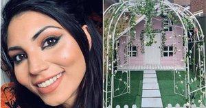 Dviejų mergaičių mama Danielle Paterson (30), dirbanti pardavimų vadybininke, iš Bedfordšyro, Didžiosios Britanijos, už mažiau nei 100£ dukroms sukūrė svajonių žaidimų erdvę. (nuotr. facebook.com)