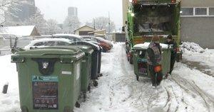 Atliekų tvarkymas (nuotr. stop kadras)