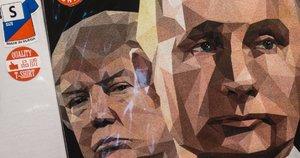 D. Trumpas ir V. Putinas (nuotr. SCANPIX)