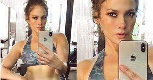 Jennifer Lopez gerbėjai susirūpinę (nuotr. Instagram)