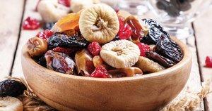 Džiovinti vaisiai (nuotr. shutterstock.com)